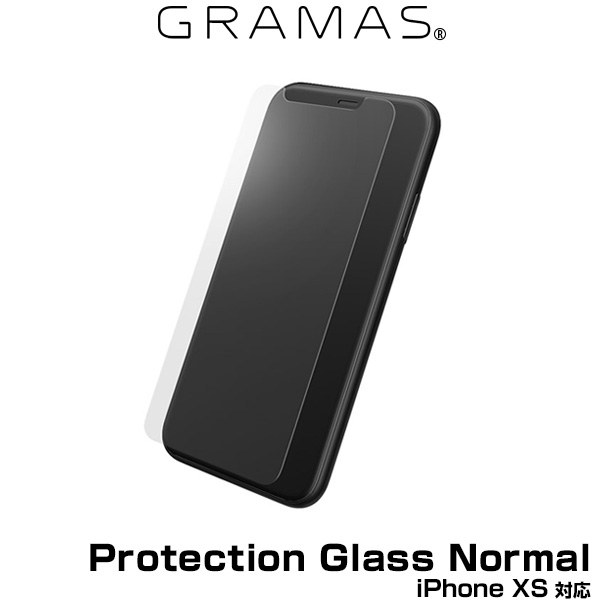 GRAMAS Protection Glass Normal for iPhone XS