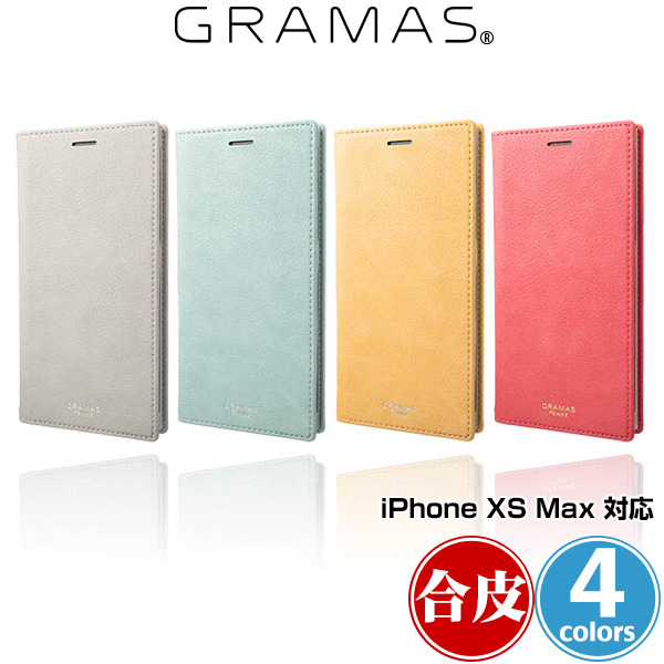 GRAMAS FEMME Colo PU Leather Book Case for iPhone XS MAX