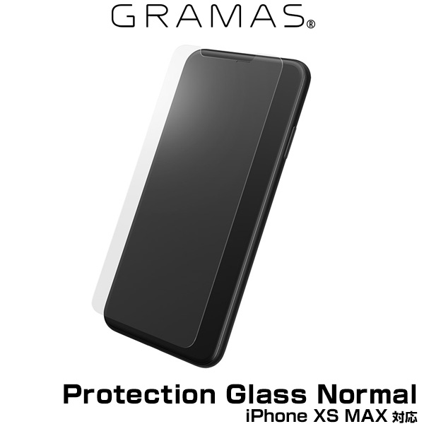 GRAMAS Protection Glass Normal for iPhone XS MAX