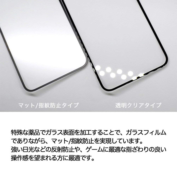 Deff TOUGH GLASS マット for iPhone XS Max(ブラック)
