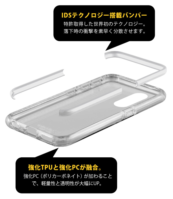 cellularline TETRA case 耐衝撃 ケース for iPhone XR