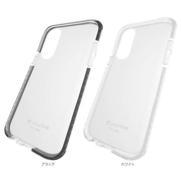 カラー cellularline TETRA case 耐衝撃 ケース for iPhone XR