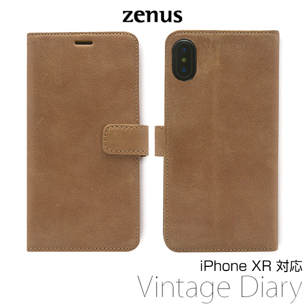 Zenus Vintage Diary for iPhone XR