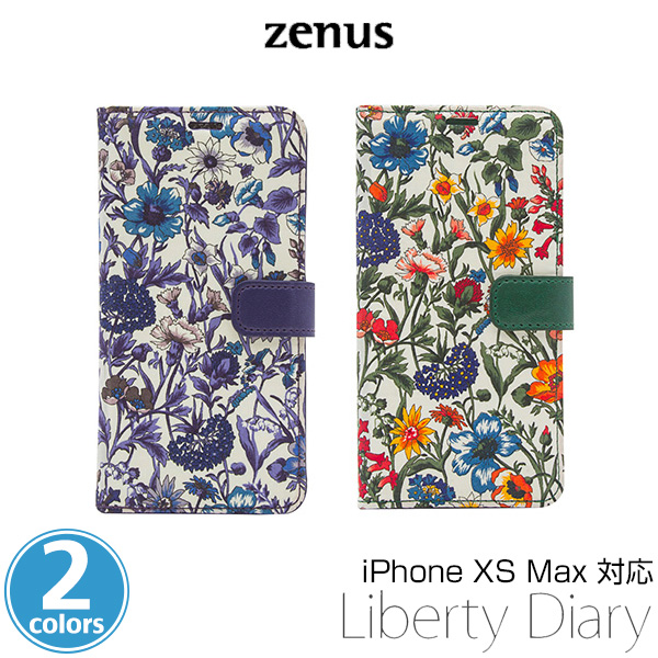 Zenus Liberty Diary for iPhone XS Max