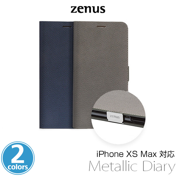 Zenus Metallic Diary for iPhone XS Max