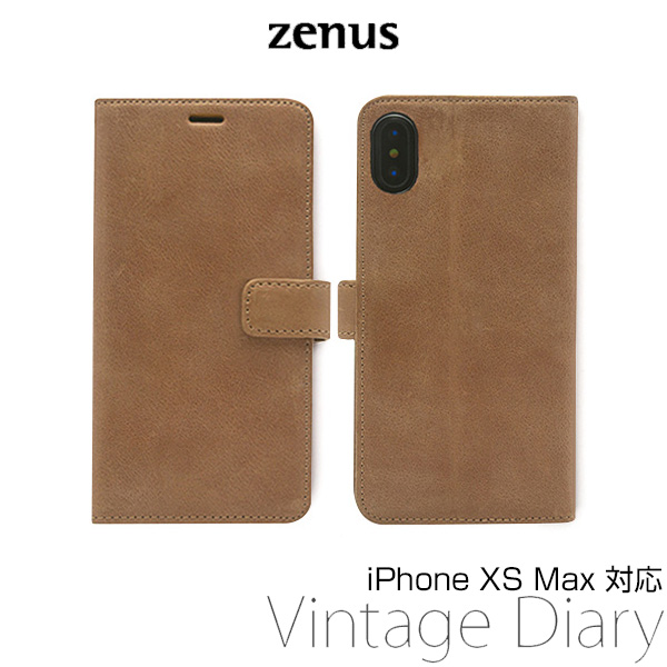 Zenus Vintage Diary for iPhone XS Max