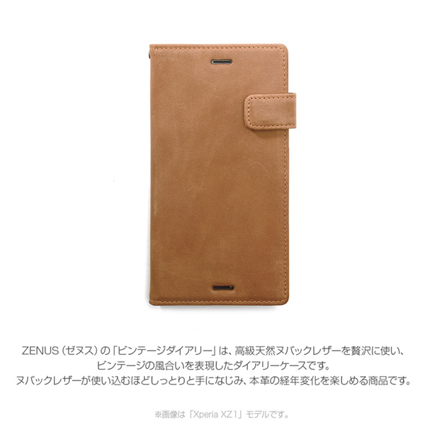 Zenus Denim Stitch Diary for Xperia XZ28