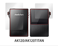 OverLay Brilliant for Astell & Kern AK120/AK120TITAN 『表・裏両面セット』